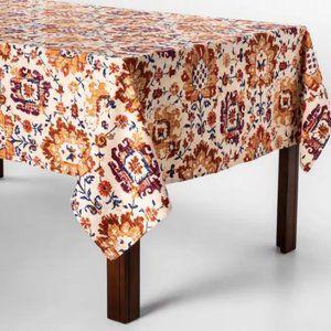 Threshold Jacobean Tablecloth Rectangle 60x104
